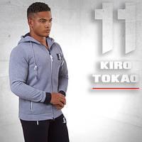 Kiro Tokao 174 | Толстовка спортивная меланж-белый