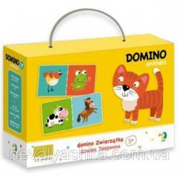 Настольная Игра Домино Животные Детское, DODO Додо, 300137, 007228