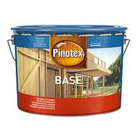 Бесцветная деревозащитная грунтовка PINOTEX BASE, 10 л
