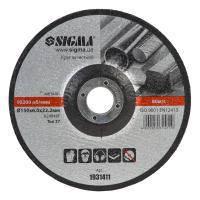 Круг зачистной по металлу 150х22,2х6 Sigma (1931411)