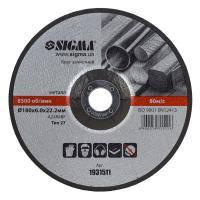 Круг зачистной по металлу 180х22,2х6 Sigma (1931511)