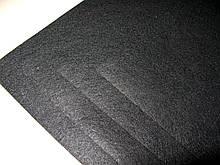 Фетр Турция Черный Жесткий 1 мм 20 на 30 см