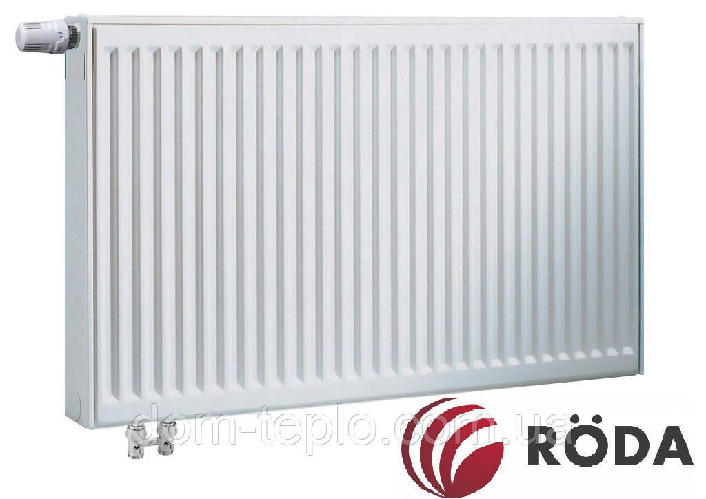 Радиатор стальной Roda Eco VK 500x1000 ➲ 22 Тип ➲ Нижние подключение