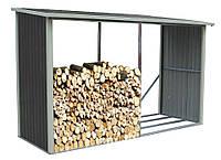 Навес для дров из металла - Изготовление | Цена металлических козырьков для дров, фото 1