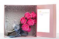 Цветы из мыла набор Пастель и розовый Композиция Soap Flowers Pastel And Pink