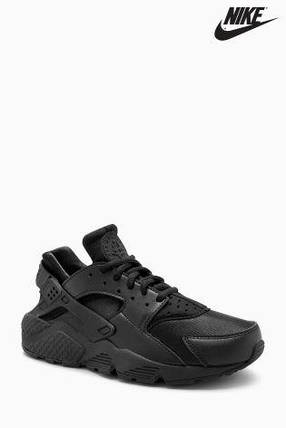 Мужские кроссовки Nike Huarache.Черные,неопрен, фото 2