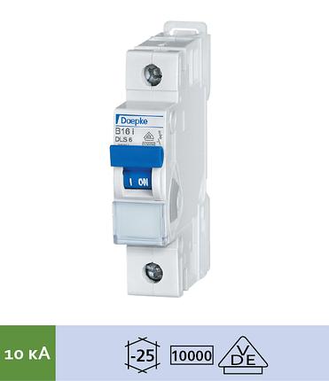 Автоматический выключатель Doepke DLS 6i B25-1 (тип B, 1пол., 25 А, 10 кА), dp09916025