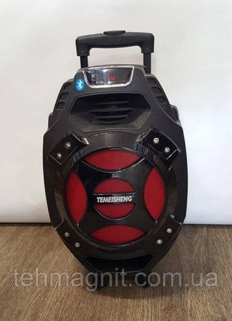 Колонка портативная TEMEISHENG Q7S USB/Bluetooth/Радиомикрофон ( Реплика )
