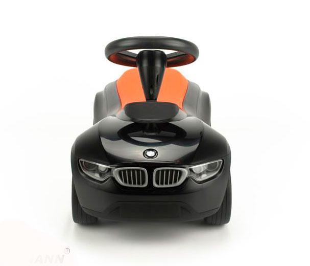 Детский автомобиль толокар BMW Baby Racer III, Black-Orange, Детский автомобиль BMW