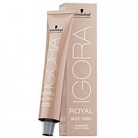 Перманентная крем-краска (пудровые оттенки) IGORA ROYAL Nudes Tones 60ml Оттенок: 9-60 экстра-светлый блонд шоколадный натур