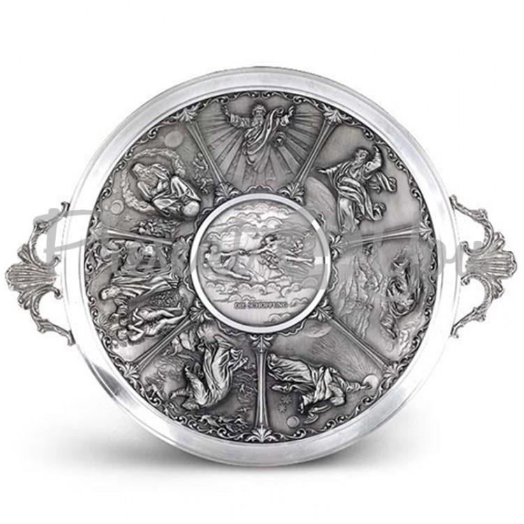 Тарелка декоративная «Создание» Artina SKS, d-28cм (60319a)