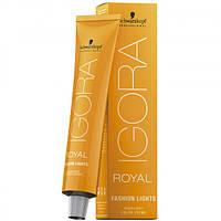 Перманентная крем-краска для цветного милирования IGORA ROYAL Fashion Lights 60ml Оттенок: L-00 блонд натуральный