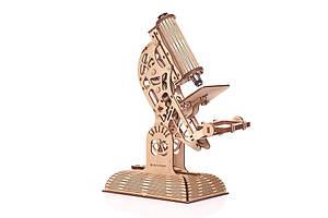 PW Механический 3D-пазл Микроскоп (Mr. Play Wood)