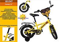 Детский двухкалесный велосипед д 12 Lambordghini