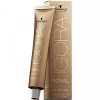 Перманентная крем-краска (100% покрытие седины) IGORA ROYAL Absolutes 60ml Оттенок: 9-560 экстра светлый блонд золотисто-шоколадный