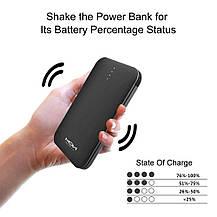 Повербанк 10000mAh MOXNICE Power Bank с Micro USB кабелем, фото 2