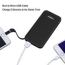 Повербанк 10000mAh MOXNICE Power Bank с Micro USB кабелем, фото 3