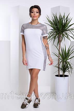 Женское платье с пайетками на груди и рукавах (Кортни lzn), фото 2