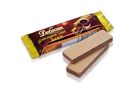 Вафли Дебют шоколадный вкус 32г ХБФ