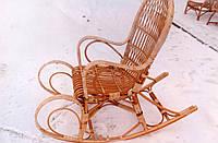 Качалка из лозы на полозьях, фото 1