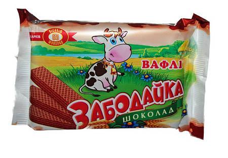 Вафли Забодайка шоколад 75г ХБФ