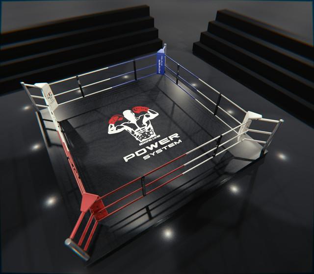 Боксерские ринги на помосте, клубные (тренировочные).