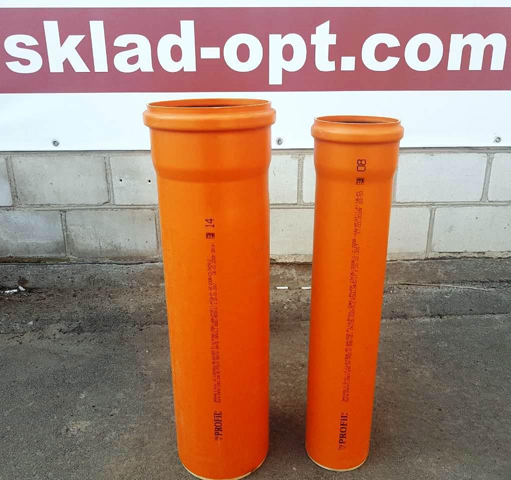 Труба для наружной канализации SN2, Profil, Польша, 160 х 3000 х 3.2 мм