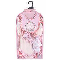 Набор детской одежды Luvena Fortuna для девочек подарочный 7 предметов (H9541.6-9)