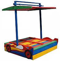Детская песочница-машинка
