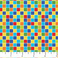 Ткань для пэчворка, Noah's Jungle - Single Colorway, 20128-10