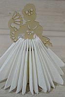 Деревянная салфетница, фото 1