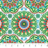 Ткань для пэчворка, Anastasia - Classic Black, 3836-71