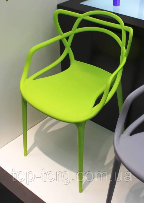 Стул Masters pp-601 Flower green зеленый, дизайнер Филипп Старк