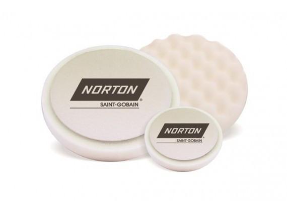 Белый рельефный полировальный круг Norton Hard Ø150х30мм