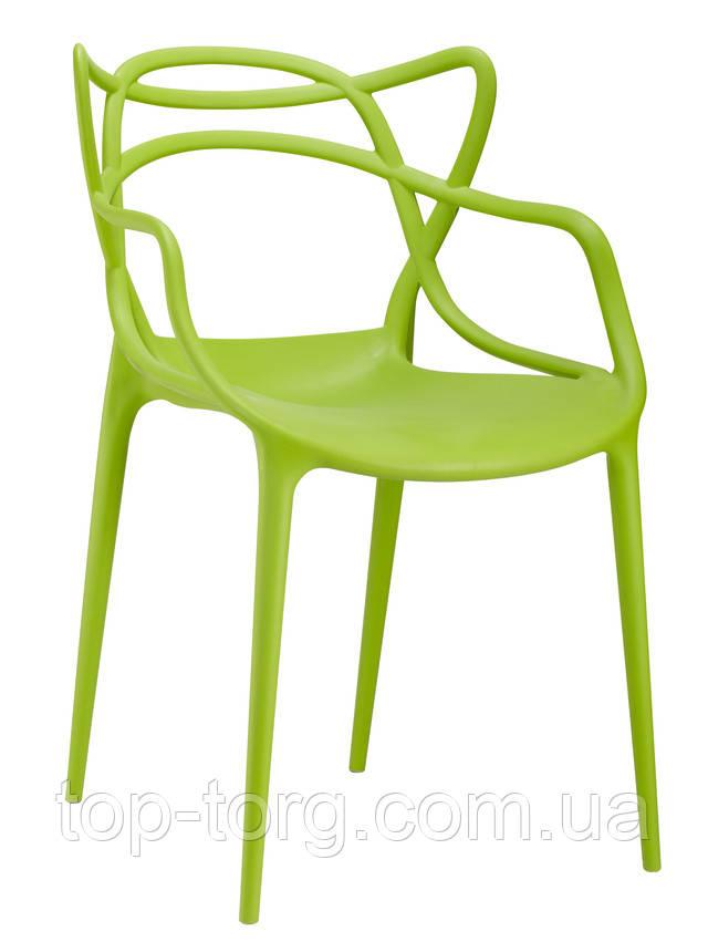 Стул-masters-chair-philippe-starck Мастерс pp-601 flower зеленый салатовый