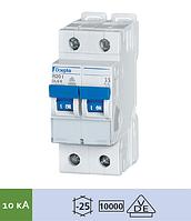 Автоматический выключатель Doepke DLS 6i B63-2 (тип B, 2пол., 63 А, 10 кА), dp09916088