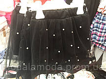 Юбка-шорты  декорированные  жемчужными бусинами на девочку. только опт