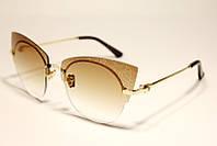 Красивые очки бабочка бренд Dior  (реплика)