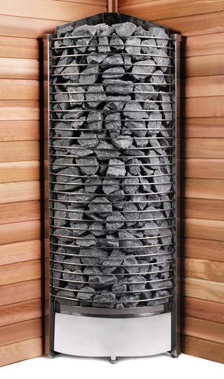Печь-каменка угловая SAWO TOWER TH6-120N-CNR
