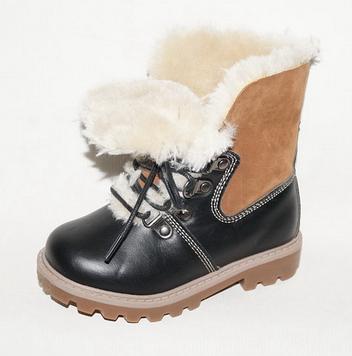 Детские ботинки зимние для мальчика, 28-31
