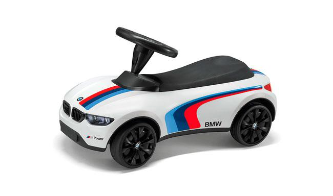 Детский автомобиль толокар BMW Motorsport Baby Racer III, White Детский автомобиль BMW