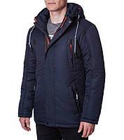 Куртка зимняя мужская Ajento 1602 темно-синяя