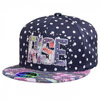 Красивая кепка для девочки. Rise