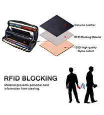 Кошелек и чехол для смартфона COCASES с защитой RFID Blocking, фото 3