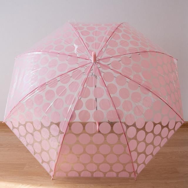 Женский силиконовый зонт