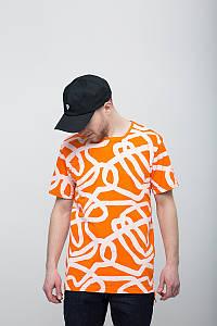 Футболка мужская принт LINES OR Urban Planet (футболки, чоловіча футболка, одежда мужская, одяг, футболки)