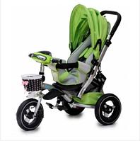 Зеленый детский велосипед Baby trike CT-90