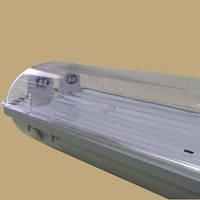 Корпус светильника светодиодного LED SH-40 2х1200мм (ЛПП 2х36w IP65) без ламп