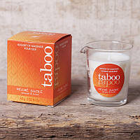 Массажная свеча Massage candle TABOO PECHE SUCRE