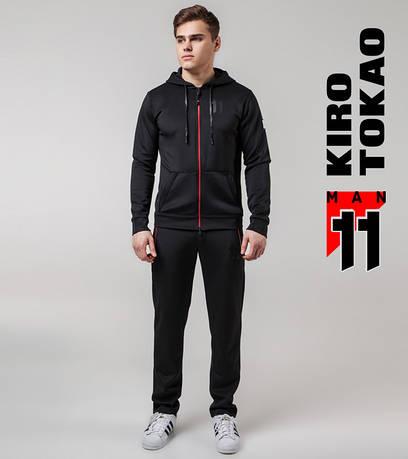 Костюм спортивный мужской Kiro Tokao 420 черный-красный